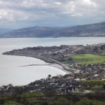 Penrhyn Bay and Rhos-on-sea from part-way up the Little Orme