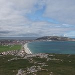 Llandudno and the Great Orme from the top of the Little Orme
