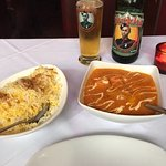 Paneer Makhani, Pilau Rice and Gurkha Beer!