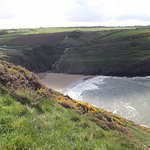 Mwnt beach from Foel y Mwnt