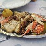 Σουπερ καβουράκια... ωραίο σαγανάκι με γαρίδες... το συνιστώ..