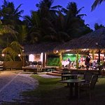 Our beachside restaurant