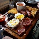 Full English breakfast, brilliant