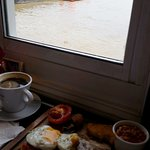 Full English with a view