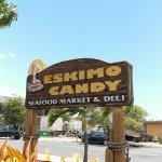 Eskimo Candy sign
