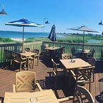 This is such a beautiful view!!! We are open ... the name is 1230 Ocean Bistro and we are open!