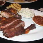 Chicken & Ribs Combo Entree... Very Good!