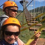 Montana Whitewater Rafting and Zipline on the Yellowstone River Foto