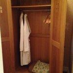 Wardrobe and bathrobes