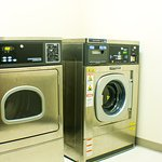 The Inn at Moses Lake has 3 sets of laundry machines for guests to use