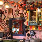 Great kitschy décor and delicious food!