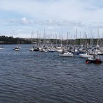 View of Kinsale harbour.