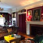 Living room at Juniper Hill Bed & Breakfast, Trumansburg, NY.