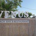 entry of Venus Beach Bar & Restaurant