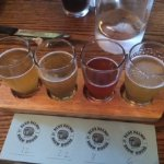 My first flight of beers!