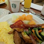 Really yummy breakfast buffet
