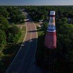 World Famous Brooks Catsup Bottle, Collinsville Illinois