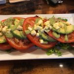 Tomato/Avocado Salad, and Fajita's BAR NONE!!!
