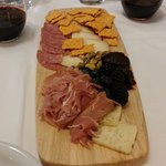Meat and cheese board. The fig jam was the highlight IMHO.