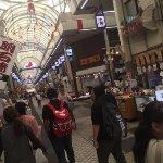 商店街の雰囲気。基本的にあまり撮影できる空気ではないです