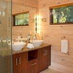 Luxury Cottage Bathroom at Awatea Tasman Bay