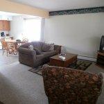 Living room, 3 bed suite, from door