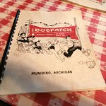 Theming extends to the cover of the menu...