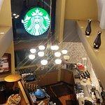 Starbucks en el condominio Playacar de Playa del Carmen