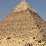 Pyramid from the desert