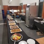 From dinning room to deliveries take outs and up to 180 people catering . We serve everyone.