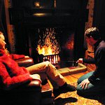 Vacy Hall offers guests the rare opportunity to have an open fire in their room