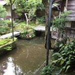 敷地を流れる川