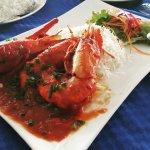 Creole style king prawns!