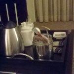 Convenient refreshments table