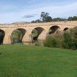 Richmond Bridge spanning the Coal River