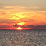 Sunsets are magnificent on Pamlico Sound