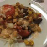 Salat als Vorspreise