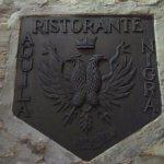 Ristorante Aquila Nigra wall plate