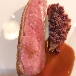 Duck and quince