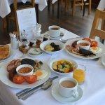 East Lyn House breakfast
