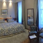 Spacious and well-decorated room