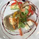 Feta Cheese with Aubergine Purée ❤️