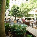 Gastgerten, restaurant garden
