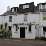 The Poolewe Hotel is sited just off the A832 on the road to Cove.