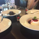 Great food and great desert in Hilton Athens area