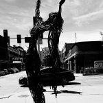 创意街头雕像添城市情趣__南达科它州苏瀑市游