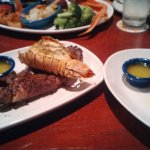 New York Strip and Rock Lobster Tail , and an extra side lobster tail