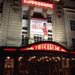 Bristol Hippodrome - exterior.