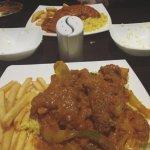 (bottom) Tandoori Mix Khoraya (top) Chicken Mirch Mix