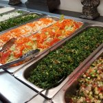 Fresh and delicious salads